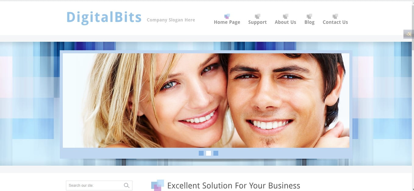 DIGITALBITS - 56+ Best Free Architecture HTML Website Templates [year]