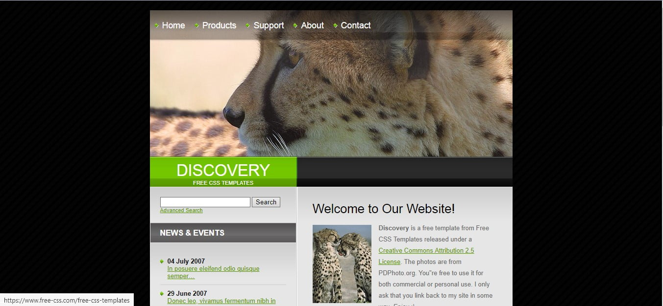 DISCOVERY - 56+ Best Free Animals & Pets HTML Website Templates