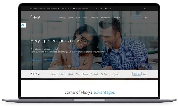 FLEXY-Business-MultiPurpose-Theme - 62+ Best Free HTML5 Website Templates 2019