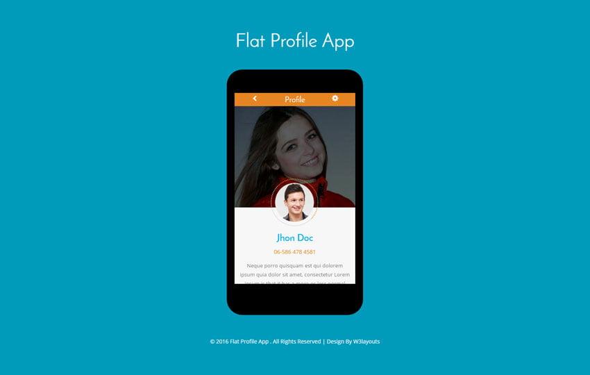 Flat-Profile-App