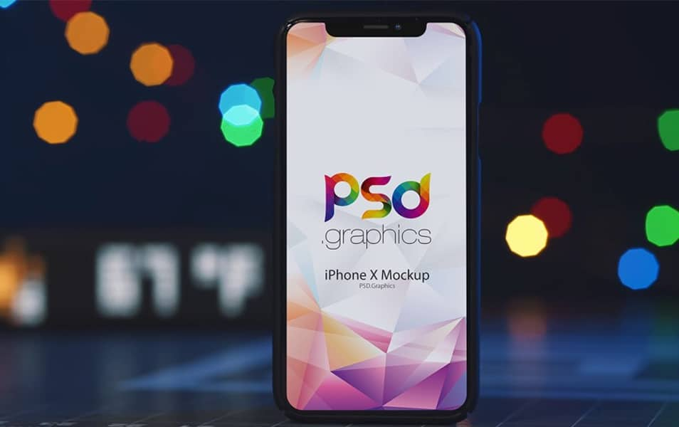 Free-iPhone-X-Mockup-1 - 100+ Best Free IPhone X Mockup Templates