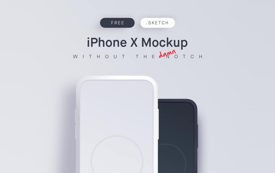 Free-iPhone-X-Mockup-2 - 100+ Best Free IPhone X Mockup Templates