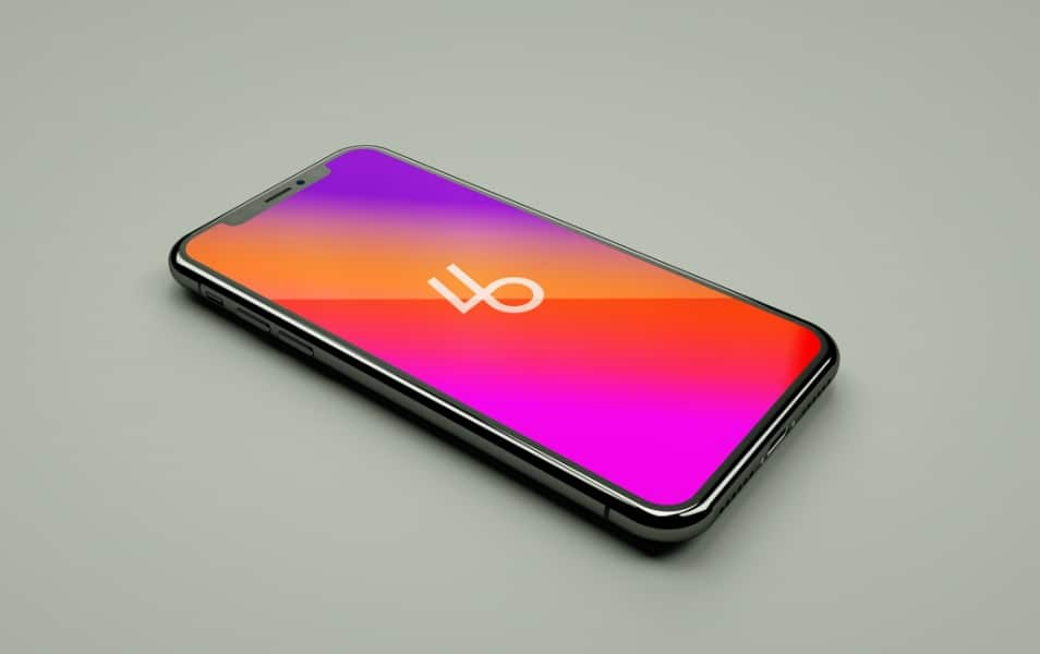 Free-iPhone-X-PSD-Mockup - 100+ Best Free IPhone X Mockup Templates
