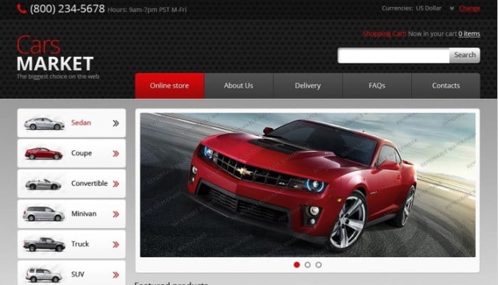 Free - 75+ Free Responsive Automobile HTML Template [year]