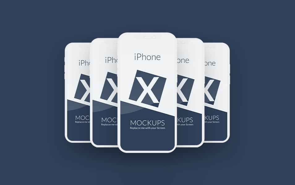 IPhone-X - 100+ Best Free IPhone X Mockup Templates