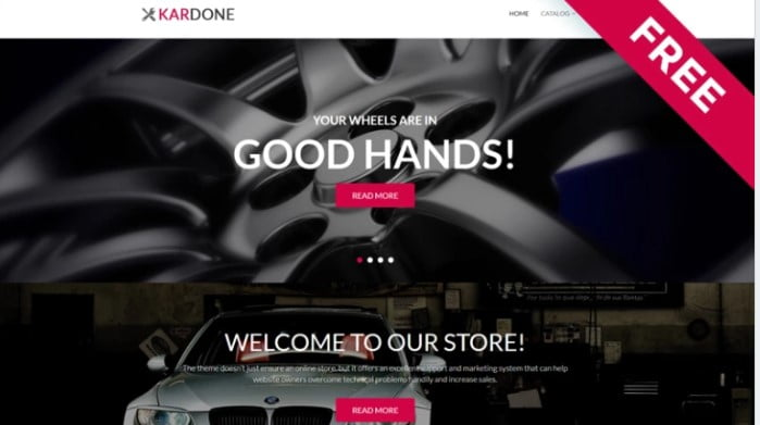 Kardone - 75+ Free Responsive Automobile HTML Template 2019