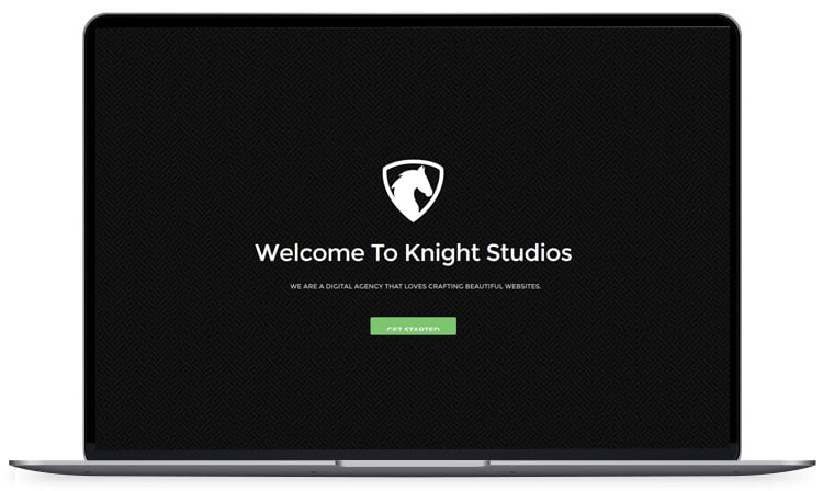 Knight - 62+ Best Free HTML5 Website Templates [year]
