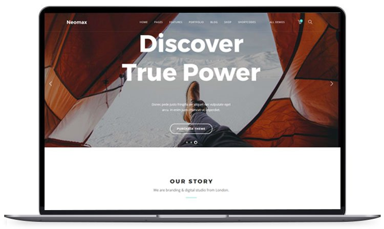 Neomax-Multipurpose-Template - 62+ Best Free HTML5 Website Templates [year]