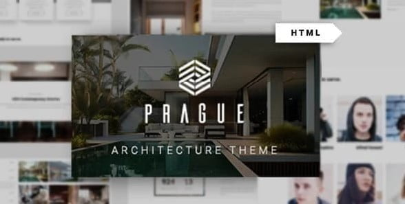 Prague - 56+ Best Free Architecture HTML Website Templates [year]