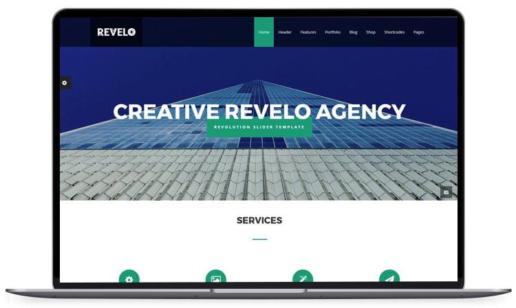 Revelo-Multipurpose-HTML-Template - 62+ Best Free HTML5 Website Templates 2019