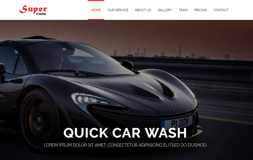 Super-Car-Service-and-Car-Wash-HTML5-Website-Templates-WebThemez - 75+ Free Responsive Automobile HTML Template [year]