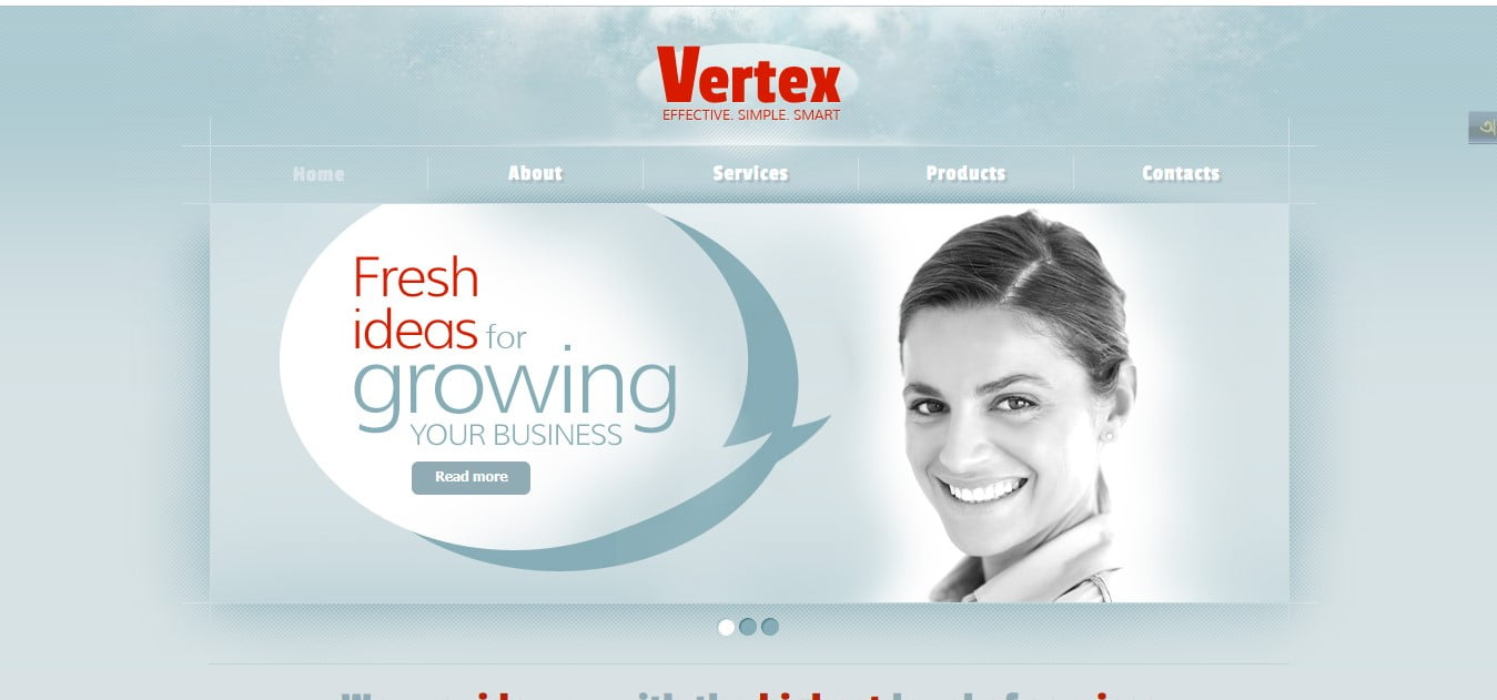 VERTEX - 56+ Best Free Architecture HTML Website Templates [year]