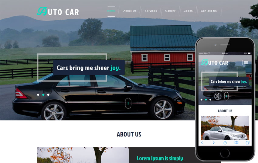 auto_car_Free12-05-2017_1945173576 - 75+ Free Responsive Automobile HTML Template 2019