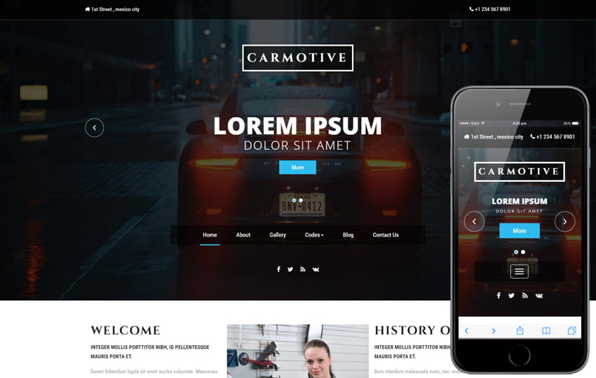 carmotive_Free08-03-2017_396320001 - 75+ Free Responsive Automobile HTML Template 2019