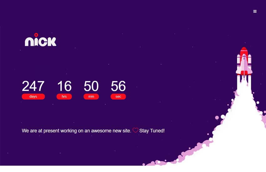 coming-soon-html-template-free-download-2-2 - 58+ Free Under Construction HTML Responsive Templates [year]