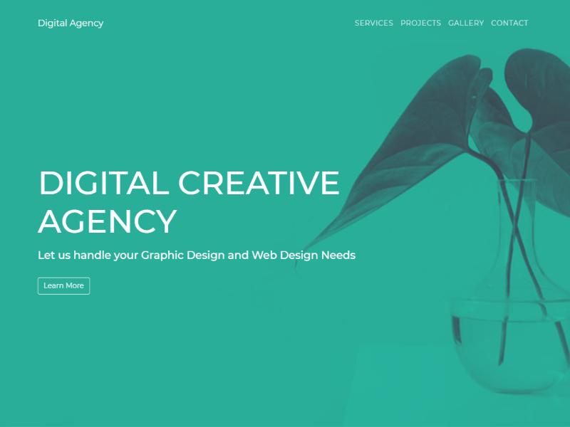 digital-agency-screenshot - 57+ Best Free Digital Agency HTML Website Templates [year]