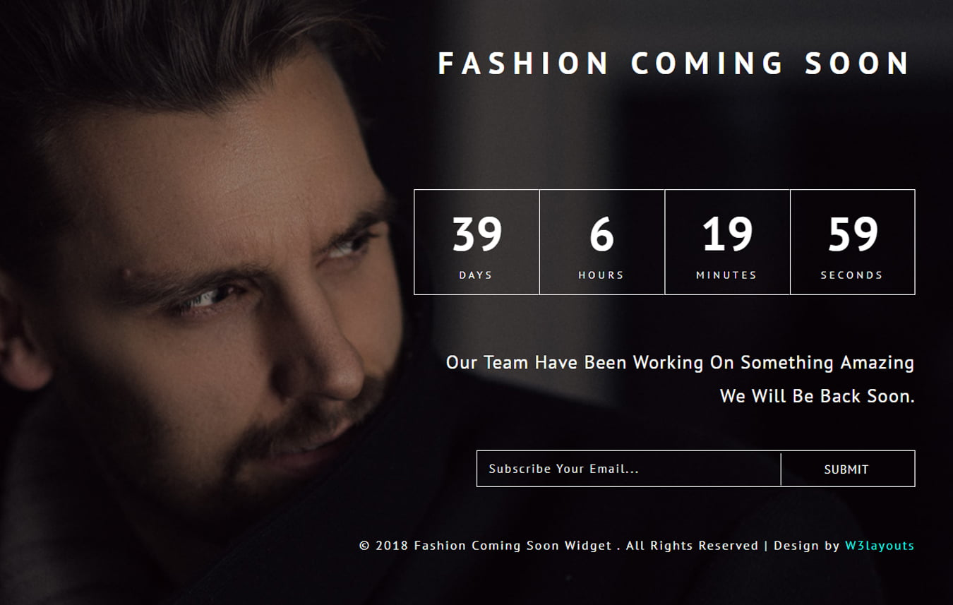 fashion_coming_soon_Free28-07-2018_966310233 - 75+ Free Coming Soon HTML Responsive Templates 2019