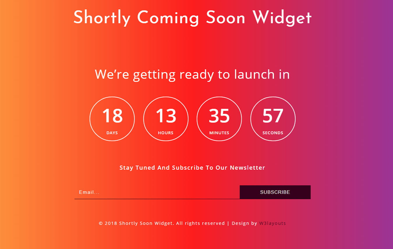 featured - 75+ Free Coming Soon HTML Responsive Templates 2019