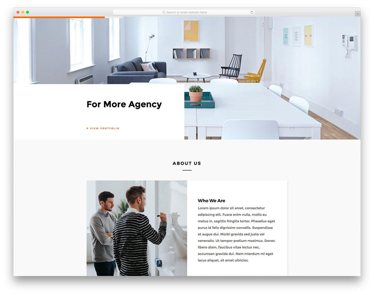 fplus-free-template - 57+ Best Free Digital Agency HTML Website Templates [year]