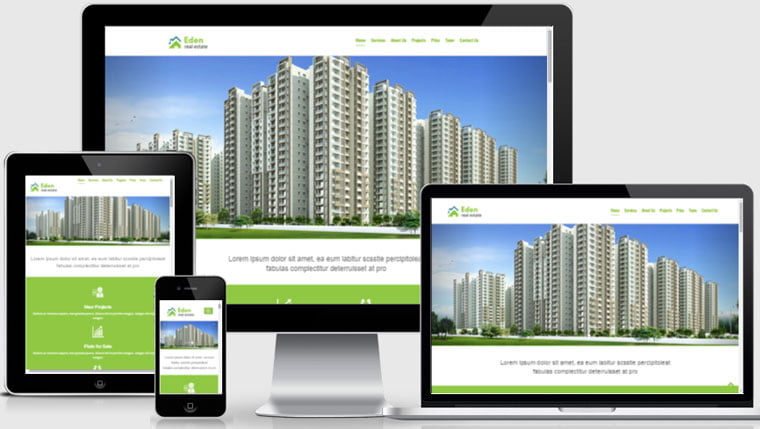 free-Real-Estate-HTML5-Website-Templates - 56+ Best Free Architecture HTML Website Templates [year]