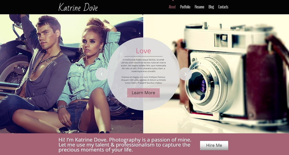 free-theme-photo-site - Top 111+ Free Responsive HTML5 Website Templates [year]