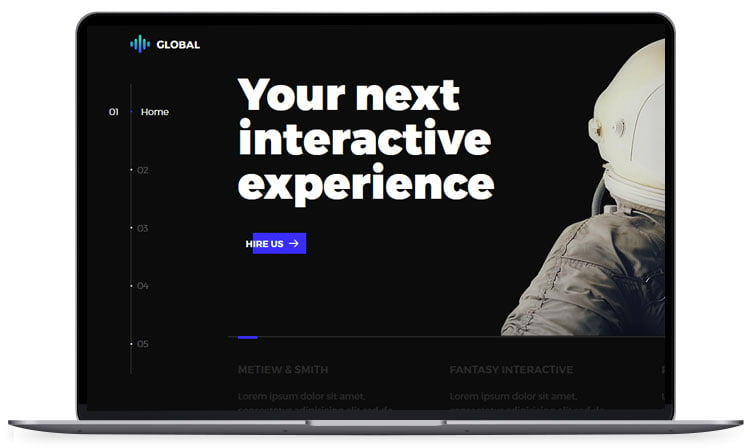 global - 62+ Best Free HTML5 Website Templates [year]