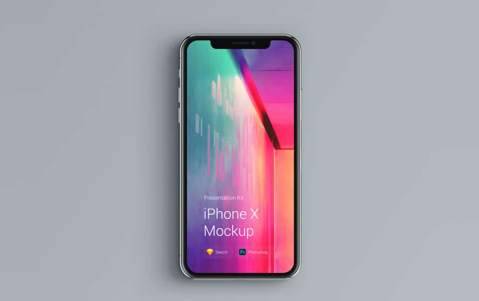 iPhone-X-Mockup-Changeable-Color - 100+ Best Free IPhone X Mockup Templates