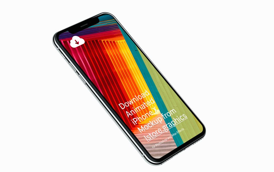 iPhone-X-Mockups-4k-Resolution - 100+ Best Free IPhone X Mockup Templates