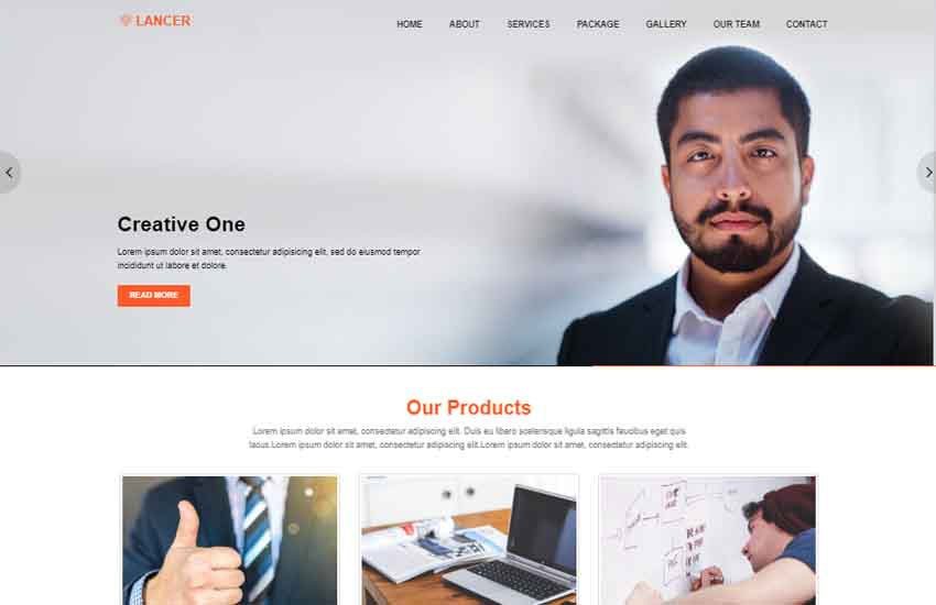 latest-bootstrap-template-free-download - 57+ Best Free Digital Agency HTML Website Templates