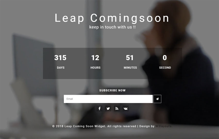 leap_coming_soon_Free23-04-2018_669185580 - 75+ Free Coming Soon HTML Responsive Templates 2019