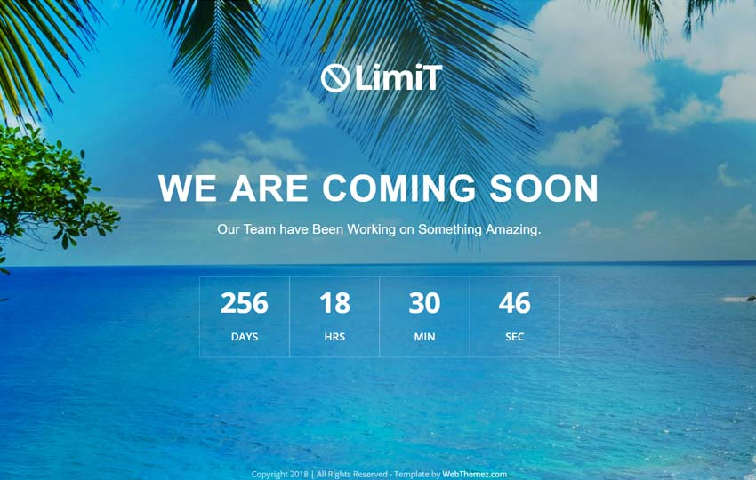 limit-coming-soon-free-web-template-1-2 - 58+ Free Under Construction HTML Responsive Templates [year]