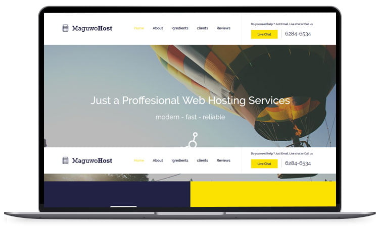 maguwohost - 62+ Best Free HTML5 Website Templates [year]