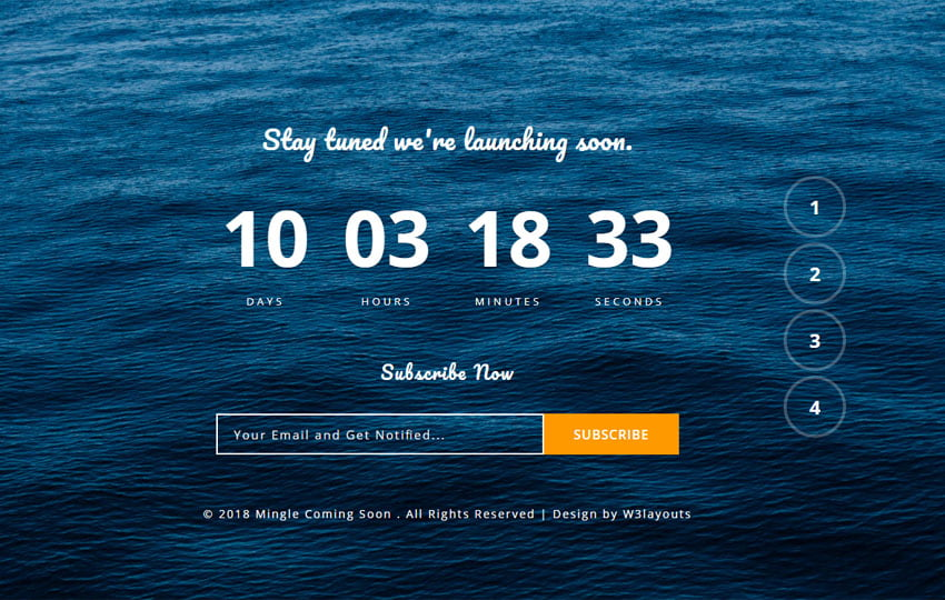 mingle_coming_soon_Free06-08-2018_1999619944 - 75+ Free Coming Soon HTML Responsive Templates 2019