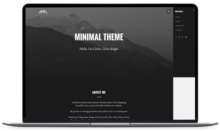 minimal - 62+ Best Free HTML5 Website Templates [year]