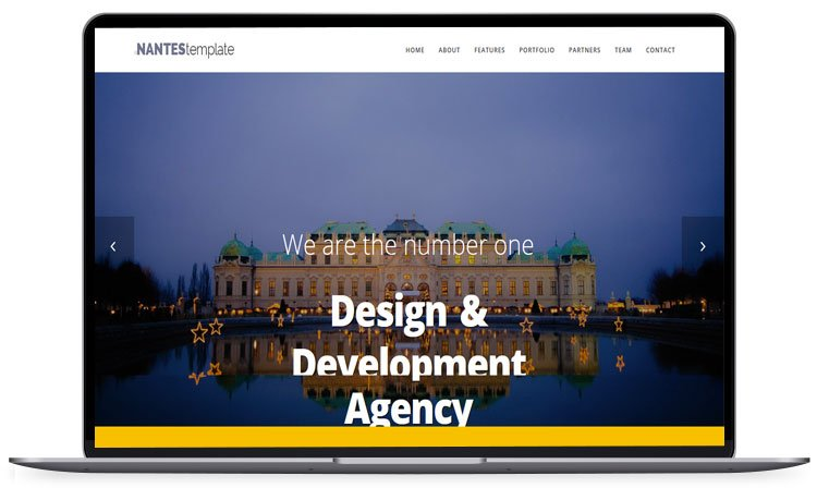 nantes - 62+ Best Free HTML5 Website Templates [year]