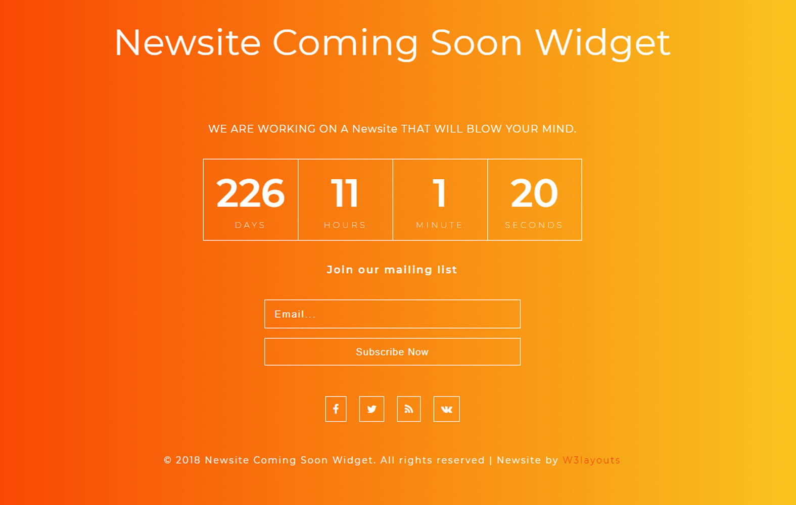 newsite_coming_soon_Free25-10-2018_841690700 - 75+ Free Coming Soon HTML Responsive Templates 2019