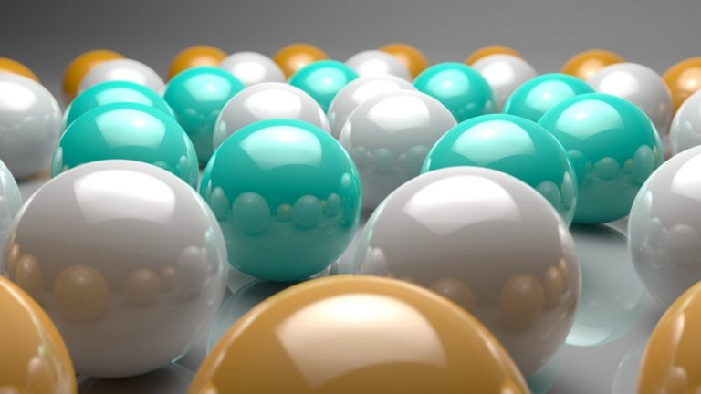Balls-Green-Yellow-Wallpaper-768x432 - 125+ Free Download Full HD 3D Wallpapers [year]