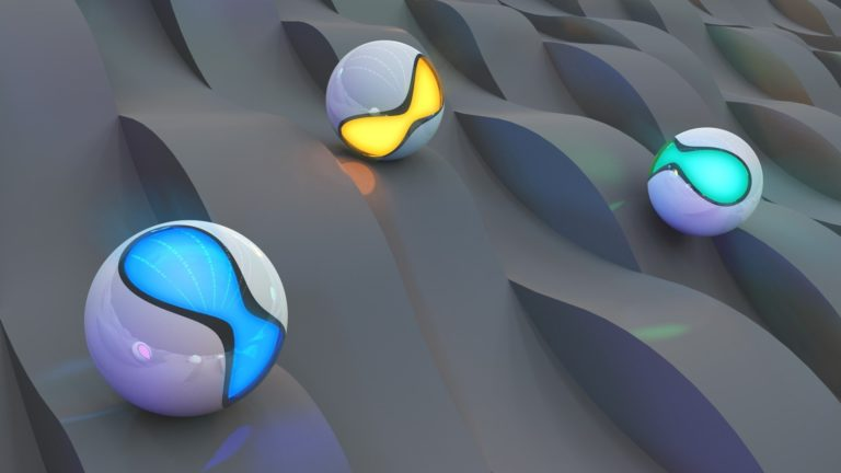 Balls-Lights-Surface-Wallpaper-768x432 - 125+ Free Download Full HD 3D Wallpapers [year]