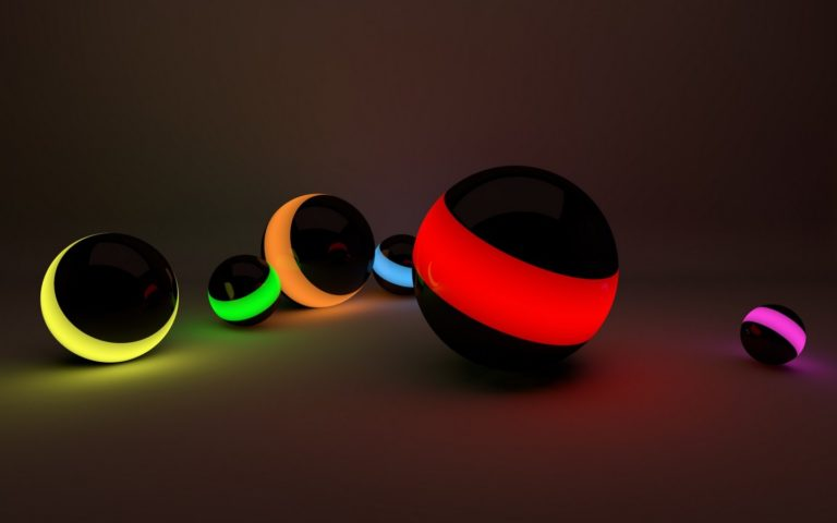Balls-Lines-Neon-Lights-Wallpaper-768x480 - 125+ Free Download Full HD 3D Wallpapers [year]