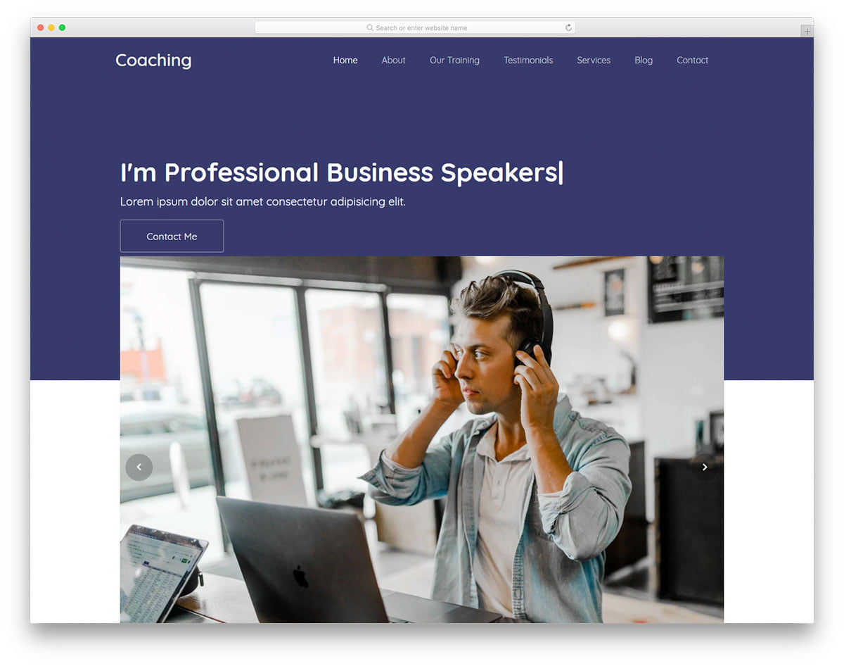 Consulting-HTML-Website - 62+ HTML Free Consulting Responsive Website Templates
