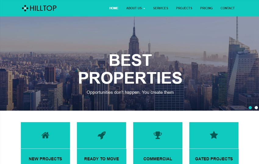 Hill-Top-Multi-purpose-Free-HTML5-Template-1 - 62+ HTML Free Consulting Responsive Website Templates