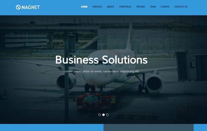 Magnet-Bootstrap-4-Multipurpose-Website-Template-1 - 62+ HTML Free Consulting Responsive Website Templates