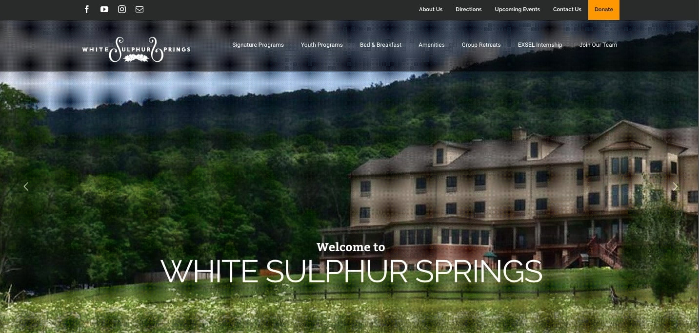 White-Sulphur-Springs - 50+ Great Examples Of WordPress Avada in Action [year]
