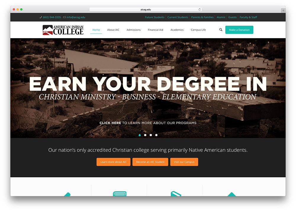 aicag-education-website-example-using-betheme