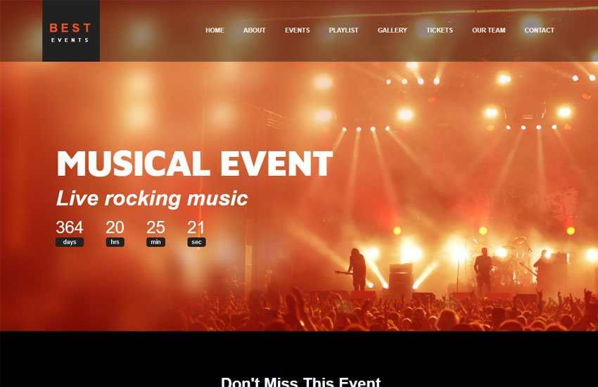 best-event-management-website-template-html5 - 62+ HTML Free Consulting Responsive Website Templates