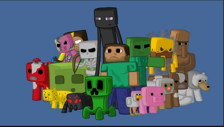 minecraft_characters_game_pixels_java - 125+ Free Download Full HD Gaming Wallpapers [year]