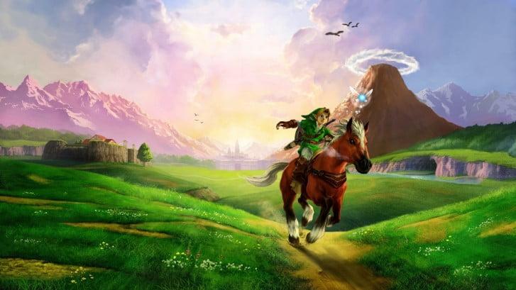 the_legend_of_zelda_horse_plain_river_sunlight_zelda_ - 125+ Free Download Full HD Gaming Wallpapers [year]