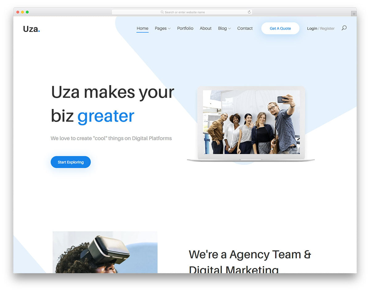 uza-free-template - 62+ HTML Free Consulting Responsive Website Templates