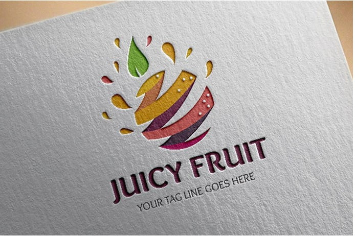 111 - 30+ Stunning Fruit & Vegetable Logo Design Templates
