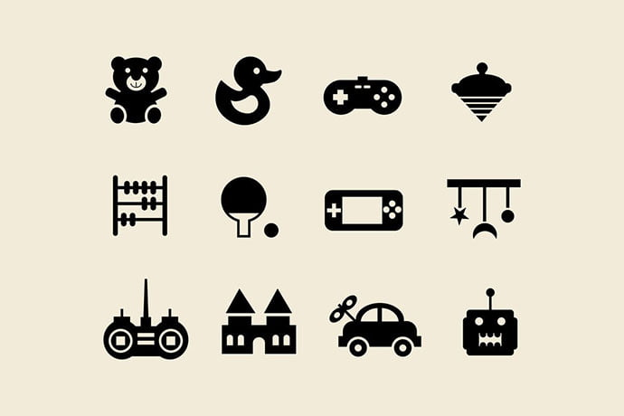 12-Toy-and-Game-Icons - 35+ Fantastic Game Icon Sets [year]